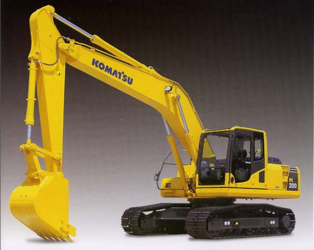 Giới thiệu máy xúc thủy lực Komatsu PC200-8
